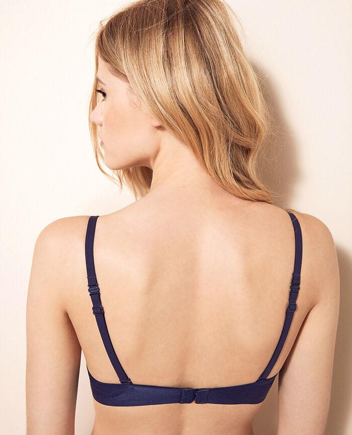Soutien-gorge triangle spacer Bleu orage Air lingerie