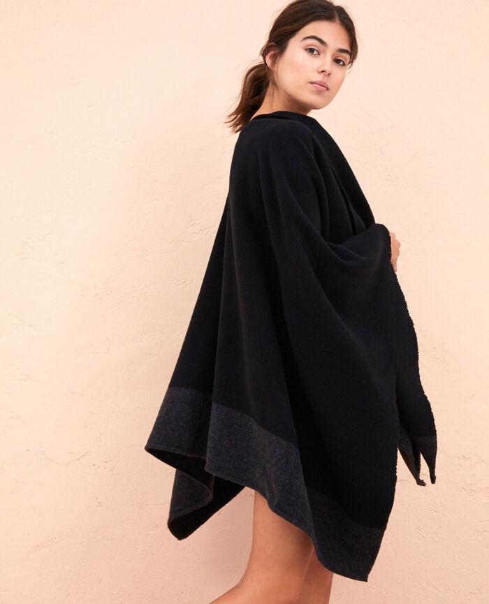 Poncho Black Soft