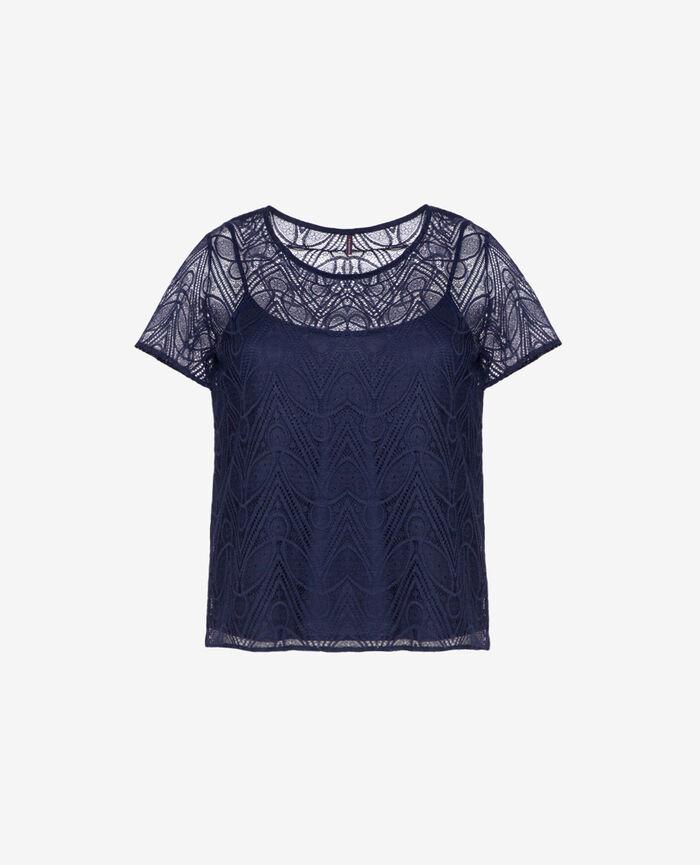 T-shirt Manhattan blue Boheme