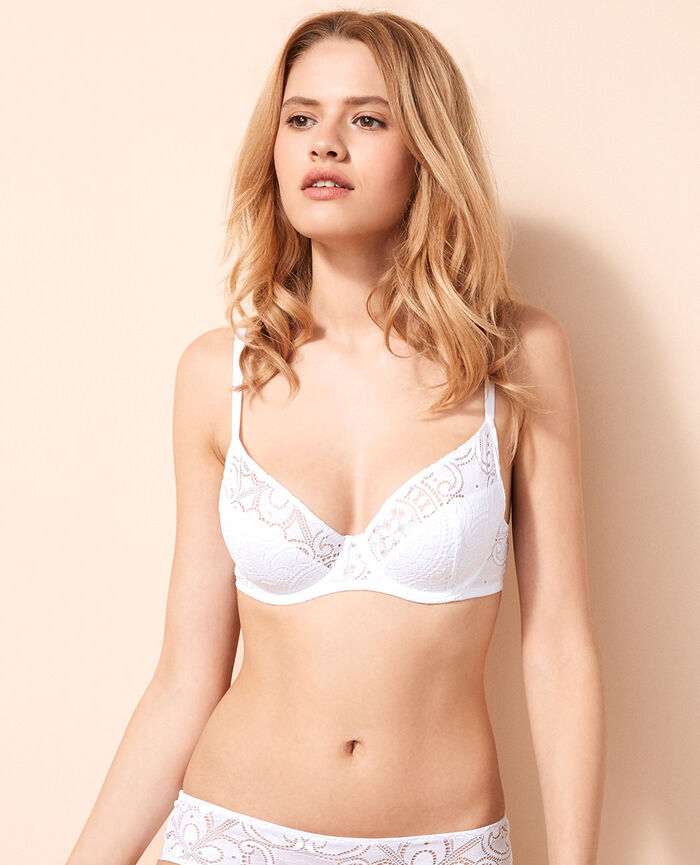 Demi push-up bra White Evasion