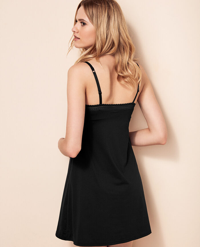 Dress with built-in bra Black Beaute