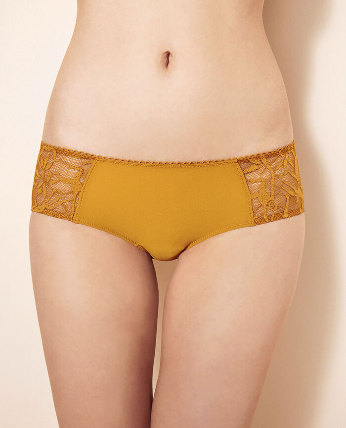 Shorts Turmeric brown Monkeys