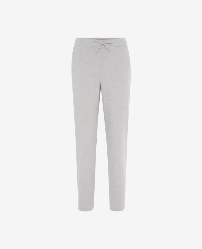 SOFT Flecked grey Harem pants