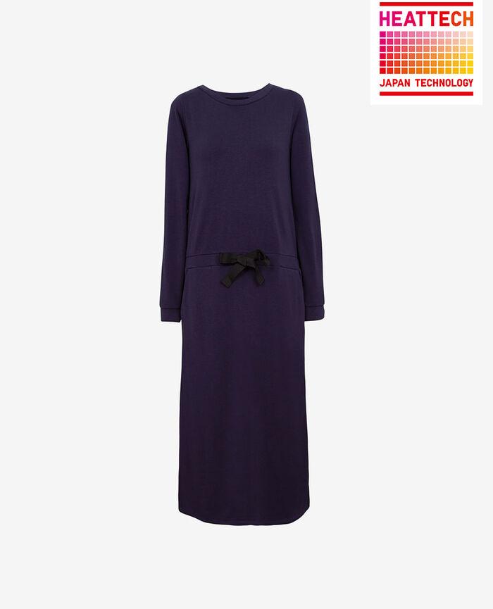 LOUNGEWEAR Navy Maxi dress