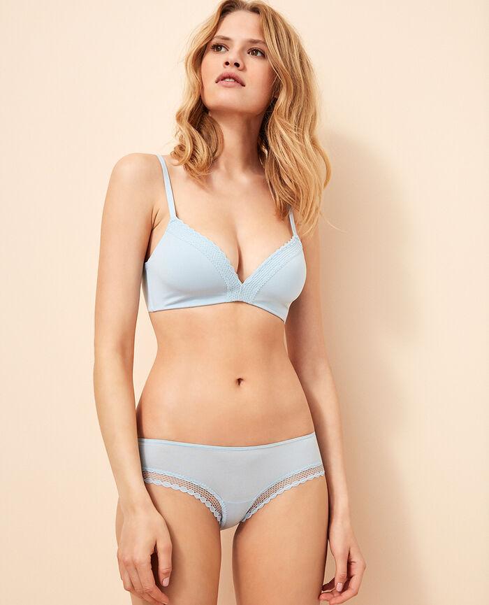 Spacer soft-cup bra Skyscraper blue Air lingerie