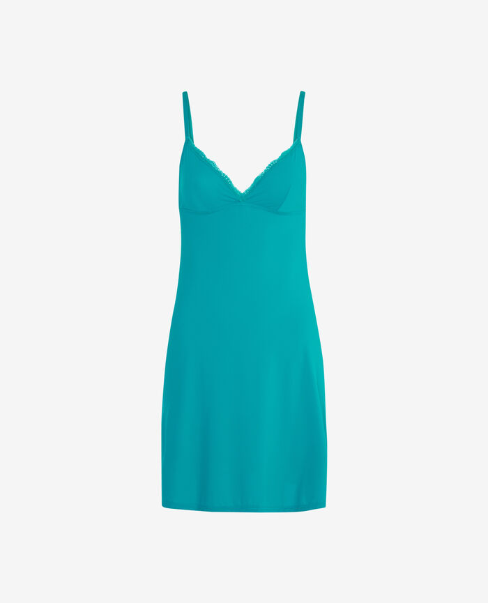 Slip dress Pigment green Take away