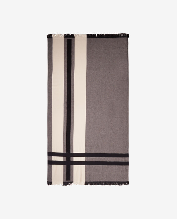 Bath towel Black Hakuna