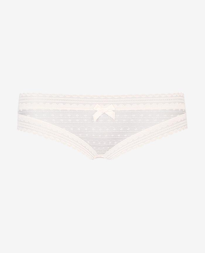 BELLE Blanc rosé Culotte taille basse