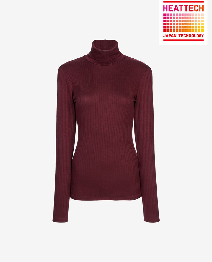 Top with turtle neck Royal chocolate Infinity
