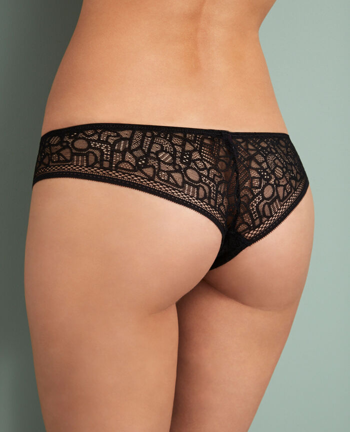 Tanga Black Manhattan