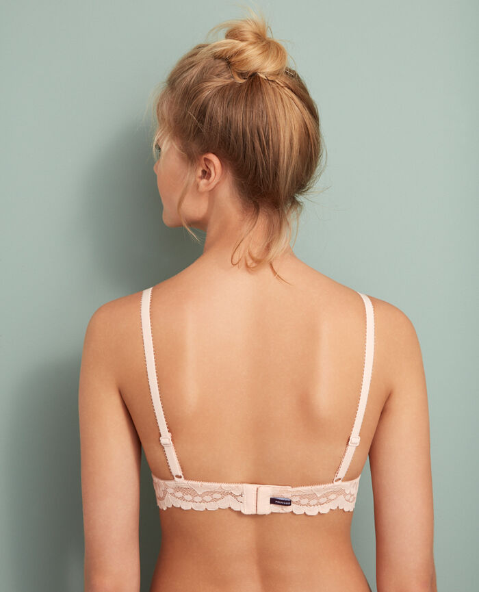 Soft cup bra Glace rose Angelina