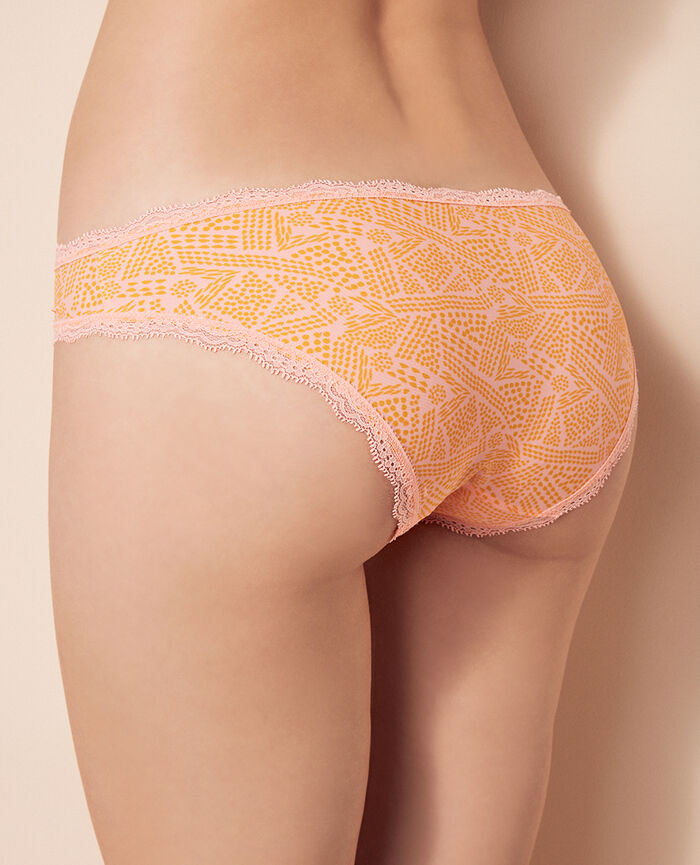 Hipster briefs Ethnic pink Take away