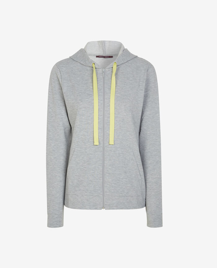 Hoodie Flecked grey Air loungewear
