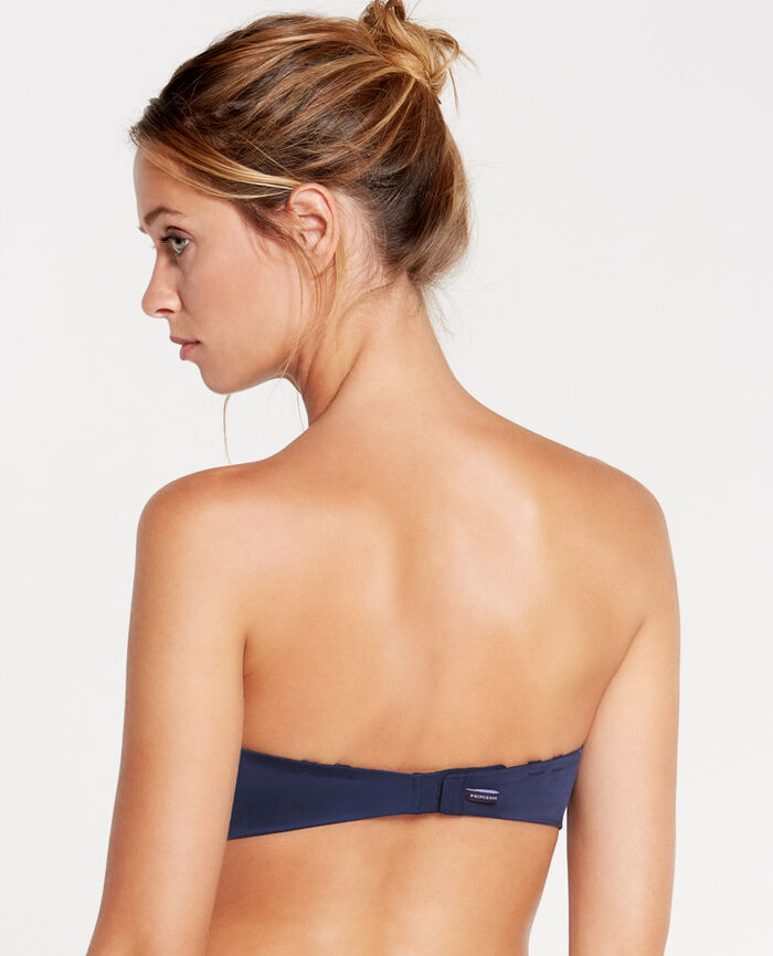 MAKE UP Navy Contour strapless bra