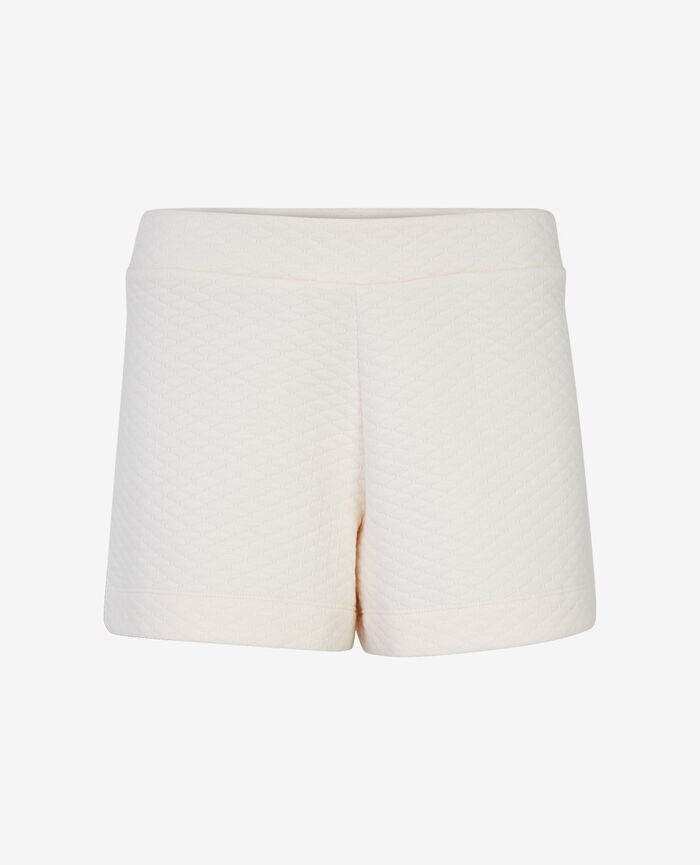 Boxer short Blanc rosé Fancy sweat