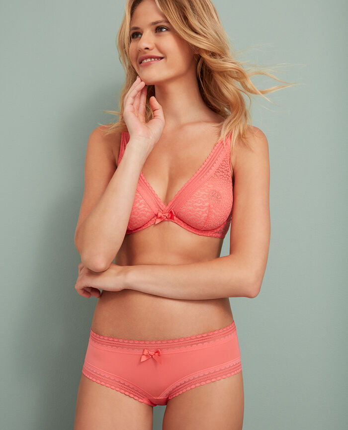 Underwired triangle bra Garden rose Belle