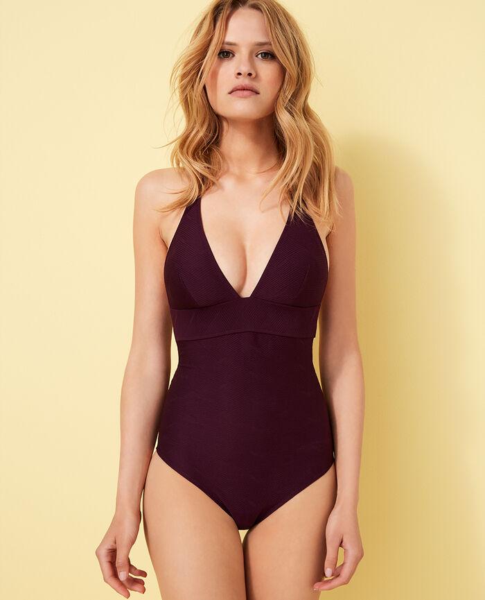 Swimsuit Ethnic purple Niala