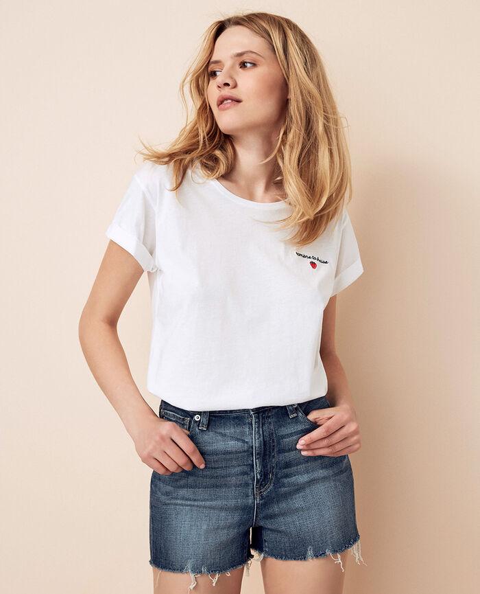 T-shirt manches courtes Fraise Fruit collection
