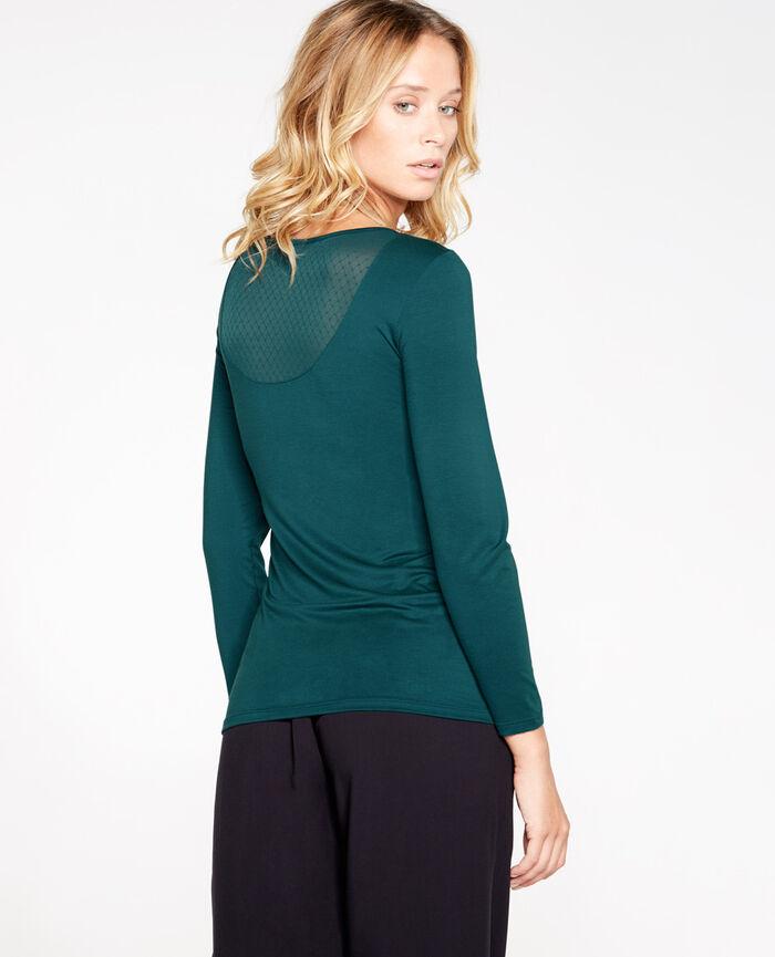 INNERWEAR Midnight green 7/8 sleeved top