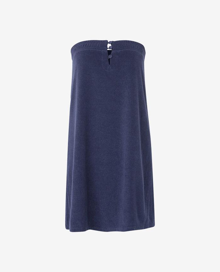 Robe Bleu marine Bronzing