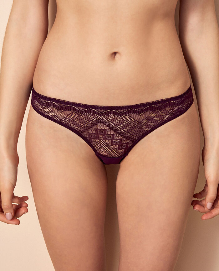 Briefs Ethnic purple Passion