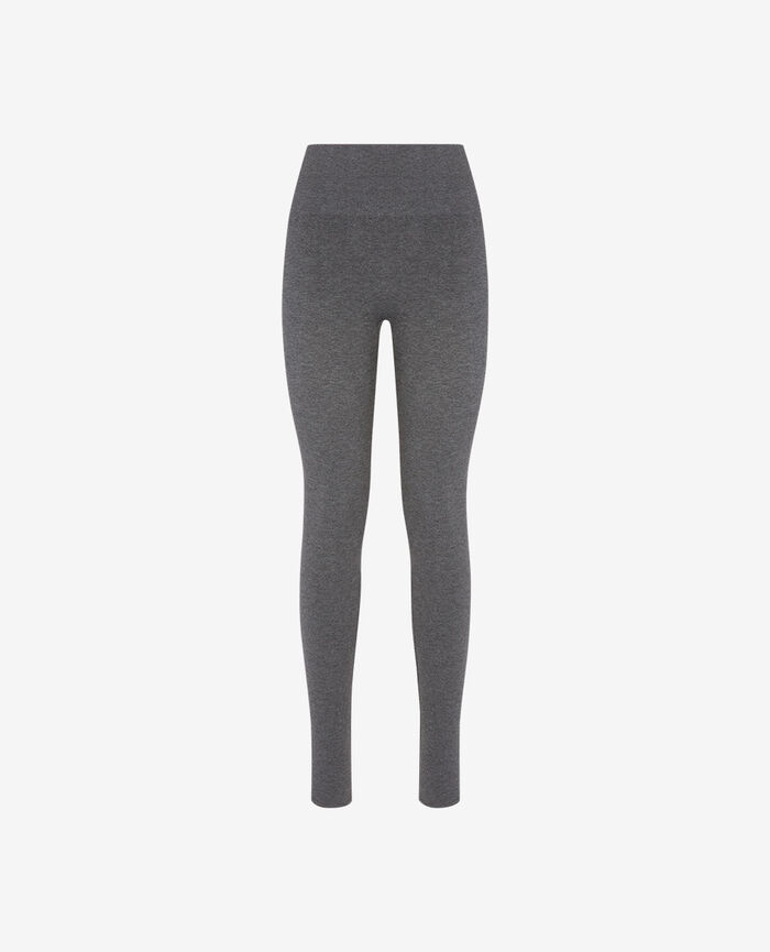Leggings Flecked grey Fit