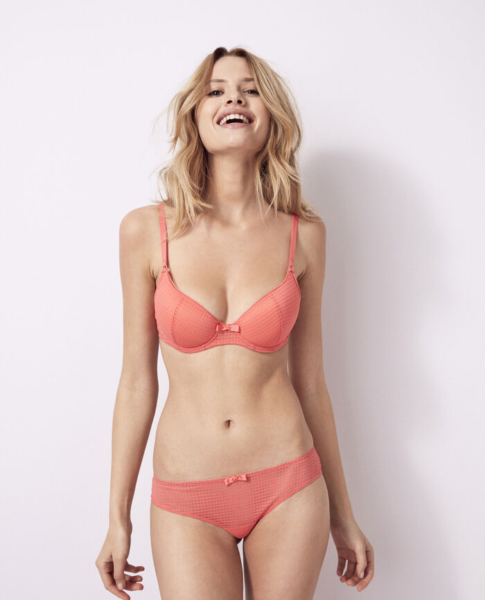 Soutien-gorge push-up mousses Rose funky Fetiche