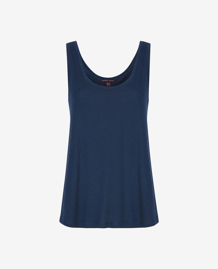 LASER Abyss blue Vest top