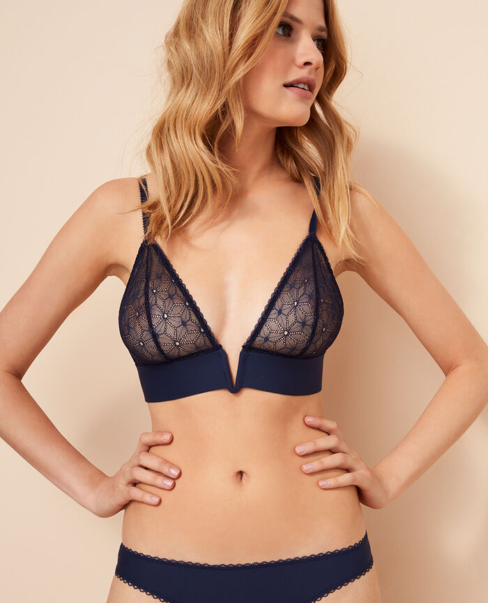 Soft cup bra Denim blue Voodoo