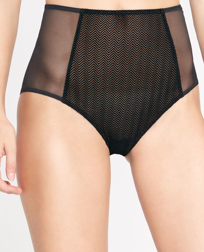 NIKITA Black High-waisted briefs