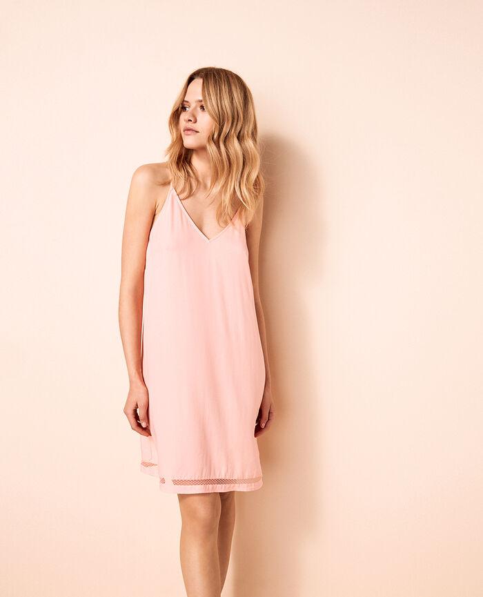 Short nightie Radiant pink Desinvolte