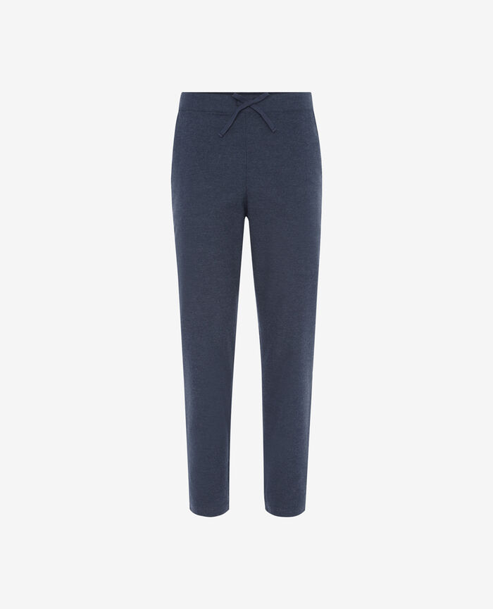 SOFT Flecked blue Harem pants