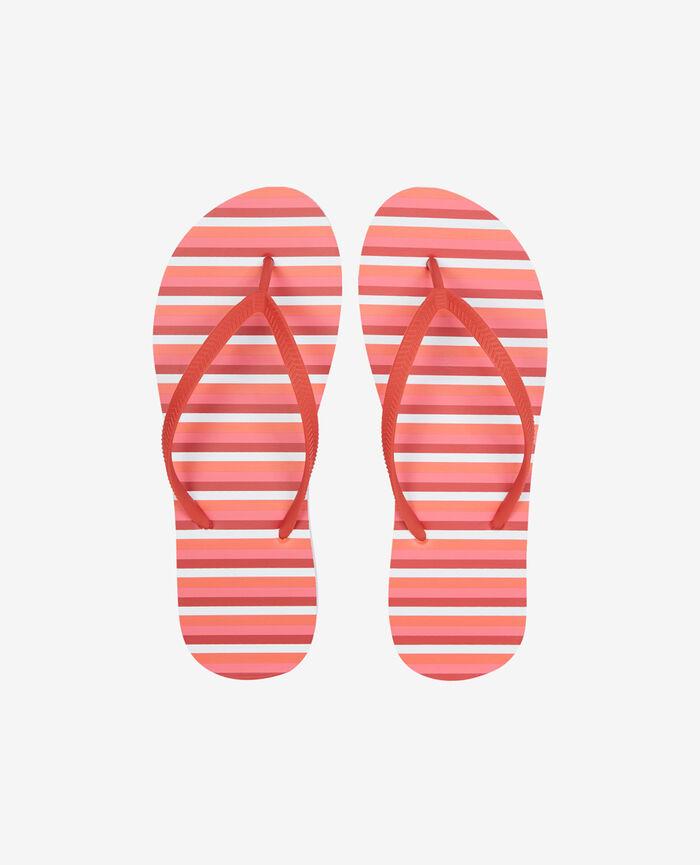 Thongs Pink stripes Princesse tam.tam x uniqlo