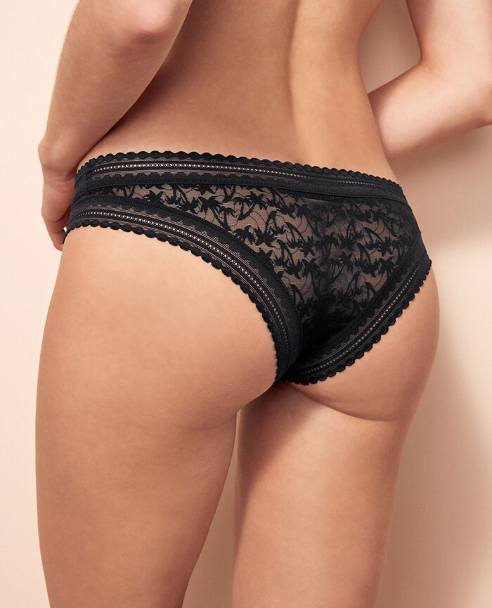 Brazilian briefs Black Bella