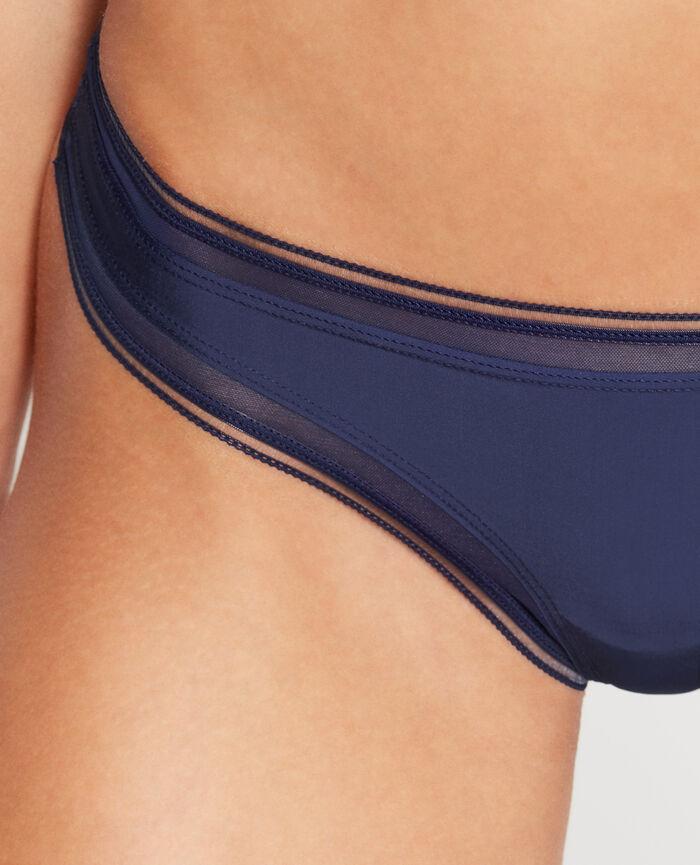 MAKE UP Bleu marine String