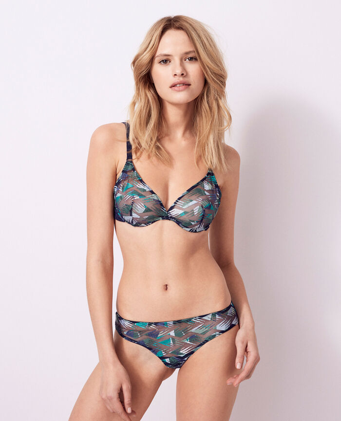 ARTIFICE Multicolour Underwired triangle bra