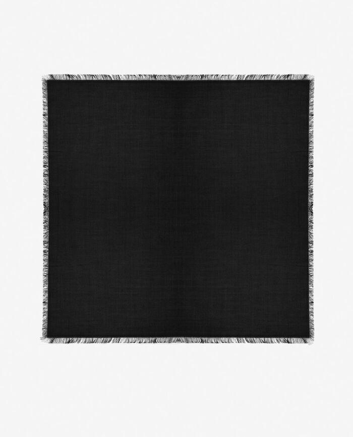 Echarpe Noir Soft