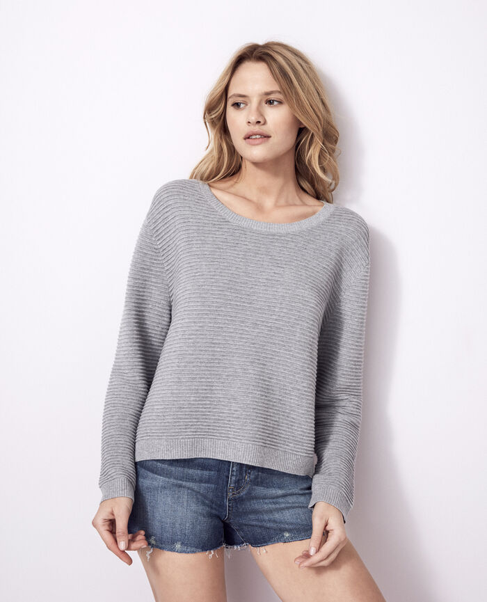 Jumper Flecked grey Kanou