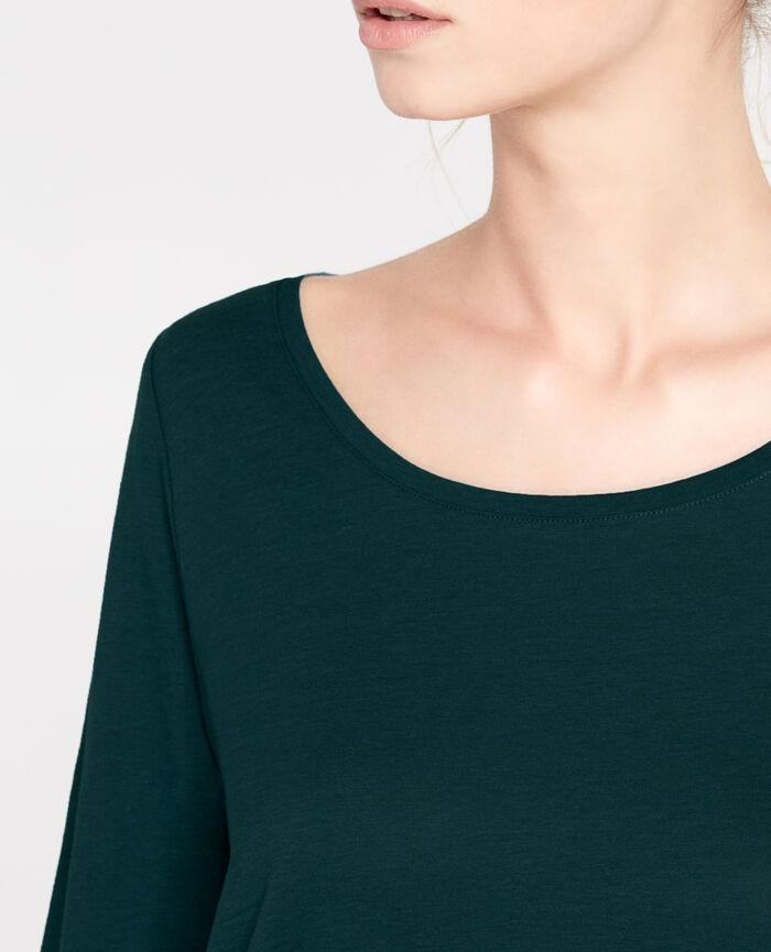 DEMY Vert nuit T-shirt manches longues