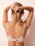 Soft moulded triangle bra Powder Fantomette