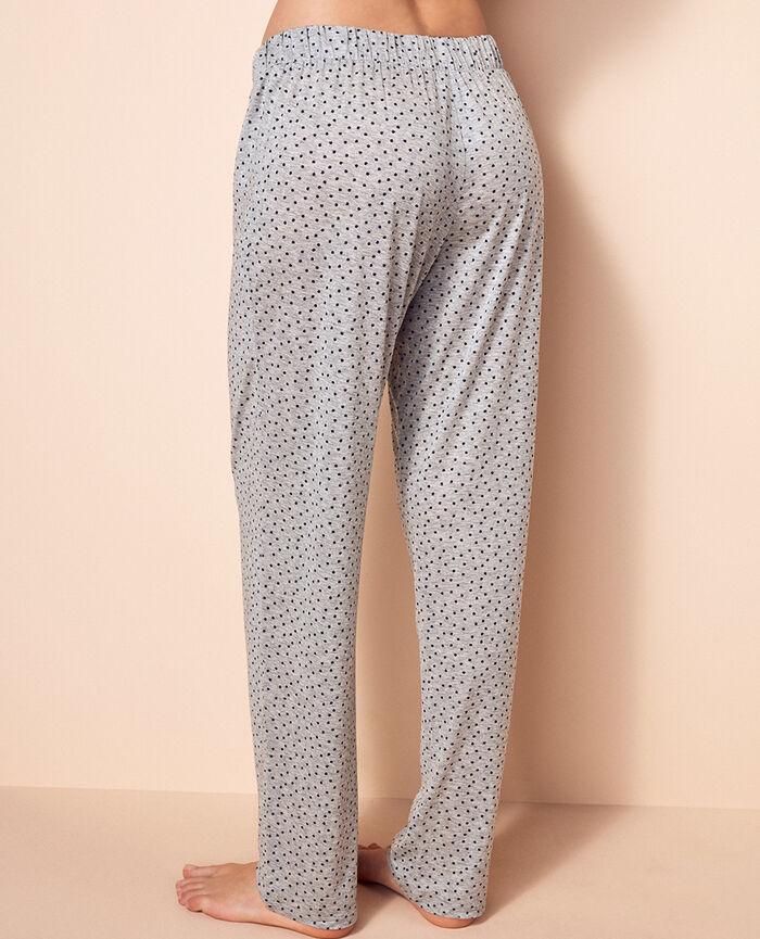 Pantalon Gris chiné Dot