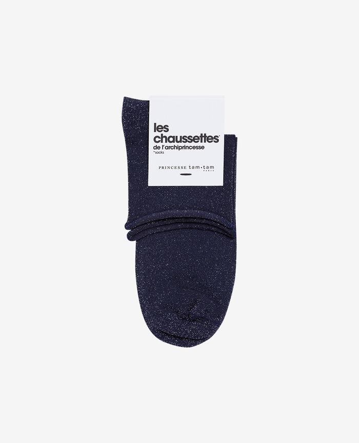 Socken Jeansblau PEARL