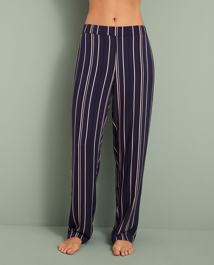 Trousers Blue stripes City