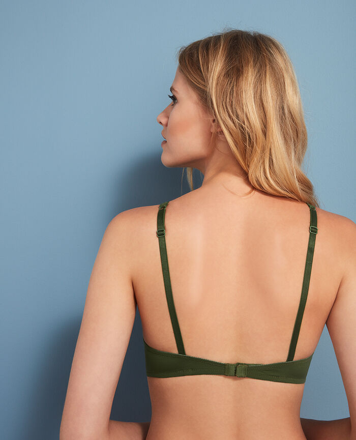 Soft cup bra Agency green Beaute