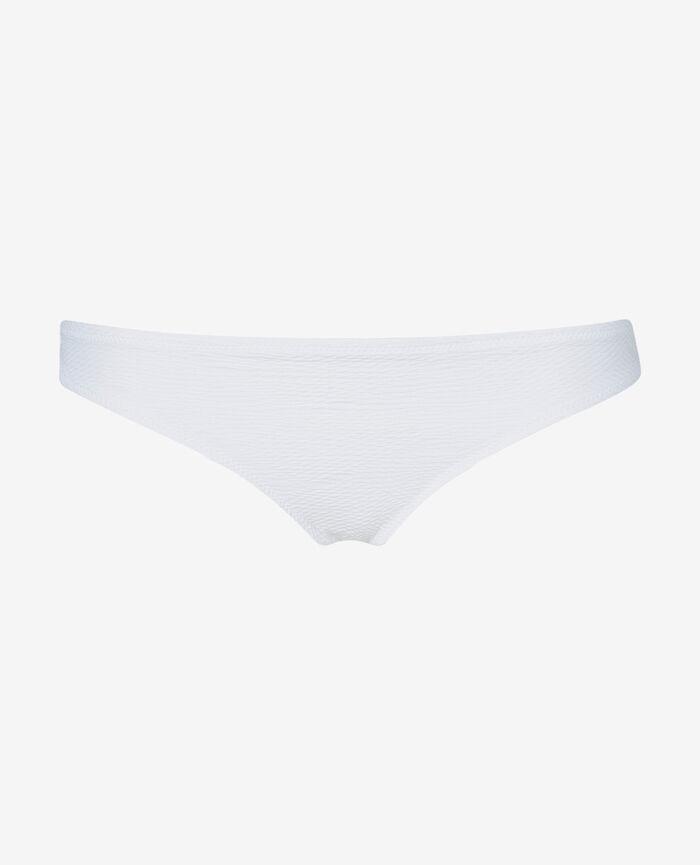 High-cut bikini briefs White Niala