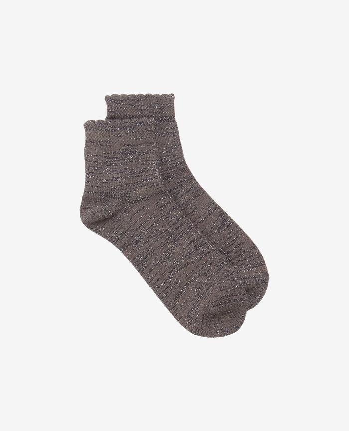 Socks Steel grey Sparkle