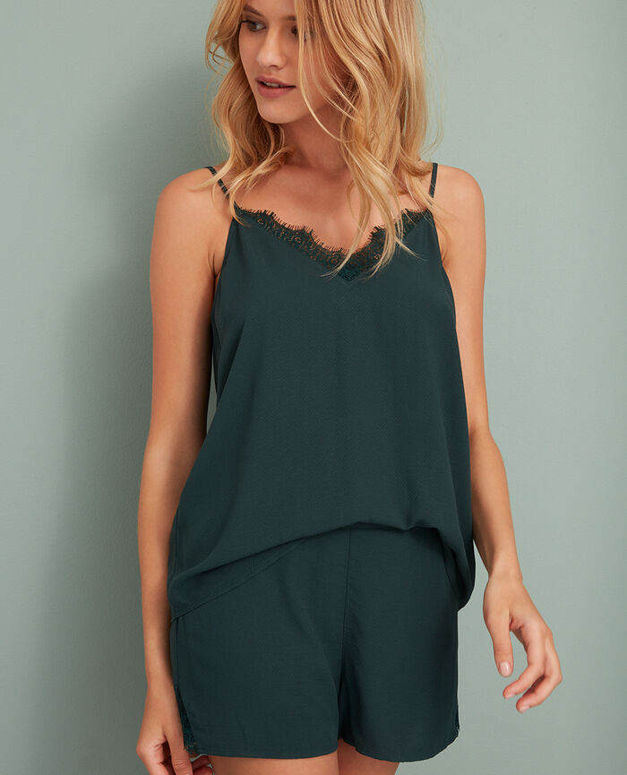 Cami Story green Juliette