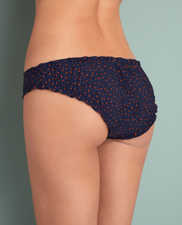 Printed briefs Leopard blue  Take away