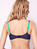 Half-cup padded bra Multicolour Artifice