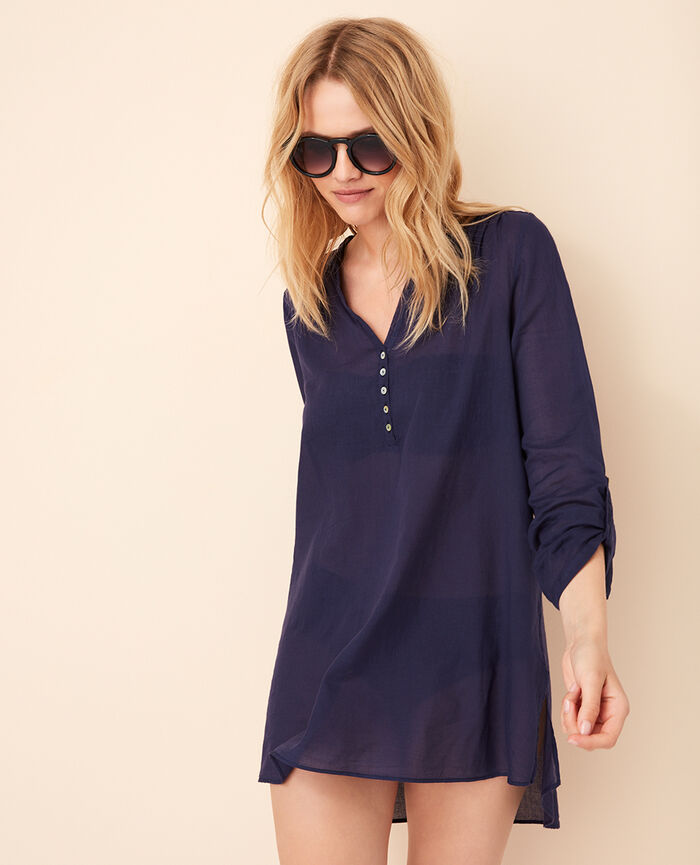 Tunic Denim blue Rivage